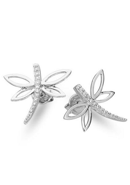 Carat Diamond Earrings Dragonfly